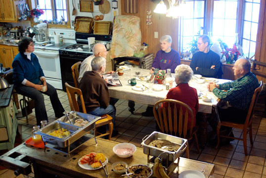 Breakfast in the Farmhouse at Palmquist Farm
